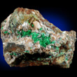 Bright Green Annabergite Crust