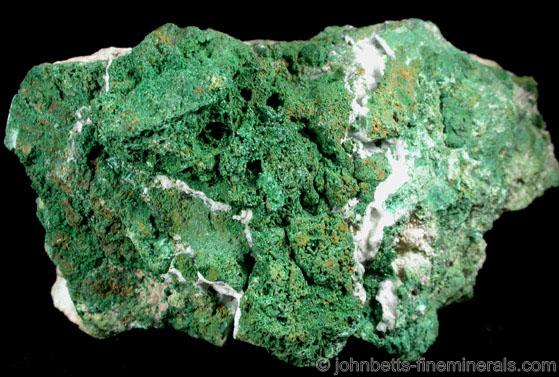 Grass-Green Annabergite Crust