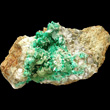 Annabergite with Smithsonite