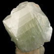Large Green Apophyllite on Stilbite