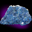 Apophyllite with Blue Kinoite
