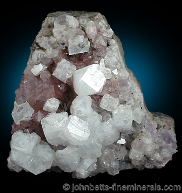 Apophyllite Crystals on Matrix