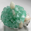 Radiating Green Apophyllite