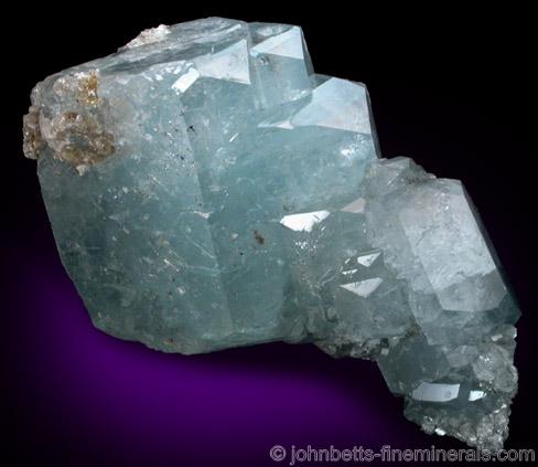 Aquamarine Crystal Cluster