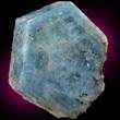 Flattened Aquamarine Crystal