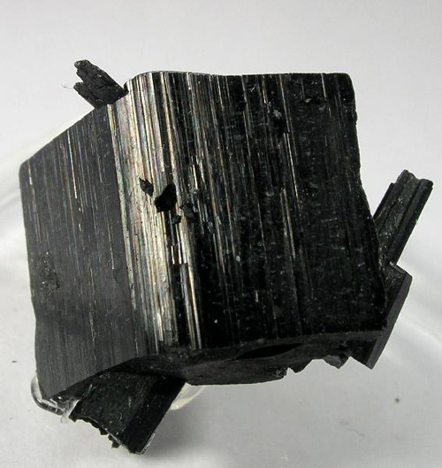 Wedge-Shaped Arfvedsonite Crystal