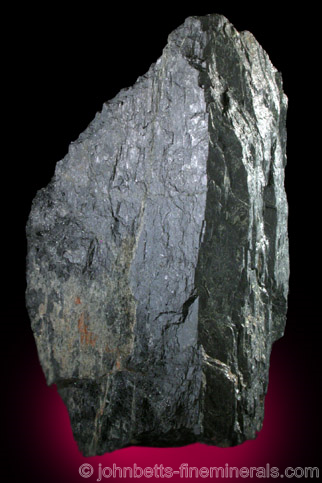 Large, Partial Arfvedsonite Crystal