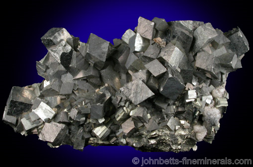 Sharp Arsenopyrite Crystal Cluster