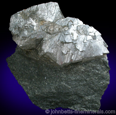 Arseonpyrite Crystals on Matrix