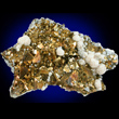 Iridescent Arseonpyrite with Quartz