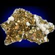 Iridescent Arseonpyrite with Quartz