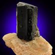 Augite in Calcite