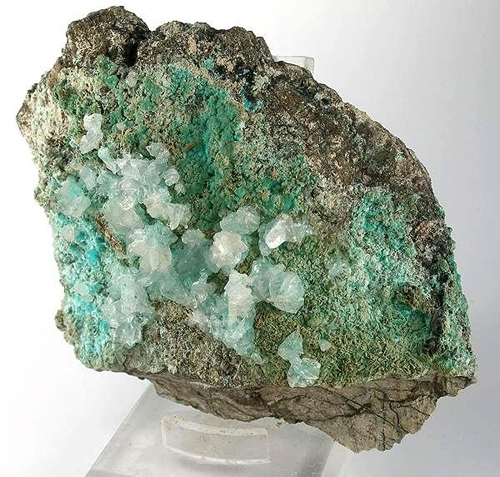 Aurichalcite With Calcite
