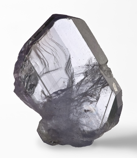 Purple, Transparent Axinite-(Mg)