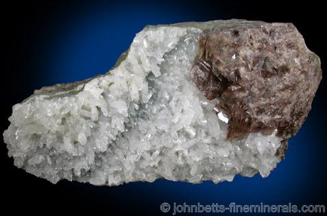 Axinite with Danburite