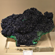 Dark Blue Azurite Mass