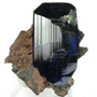 Doubly Terminated Azurite Crystal