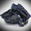 Sharp Azurite Crystals