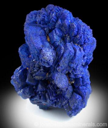 Vivid Blue Azurite Cluster