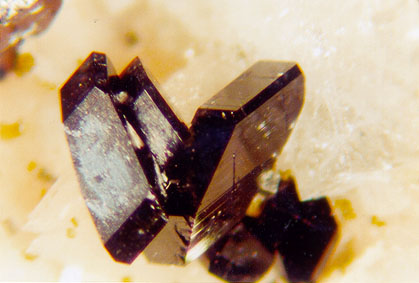 Babingtonite Microcrystals