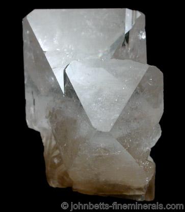 Sharp Colorless Barite Crystals