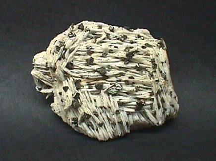 Coxcomb Barite with Chalcopyrite