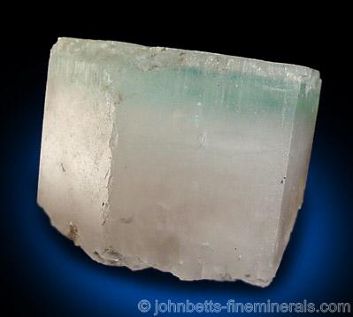 Multicolored Beryl Crystal