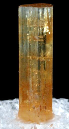 Elongated Golden Beryl Crystal