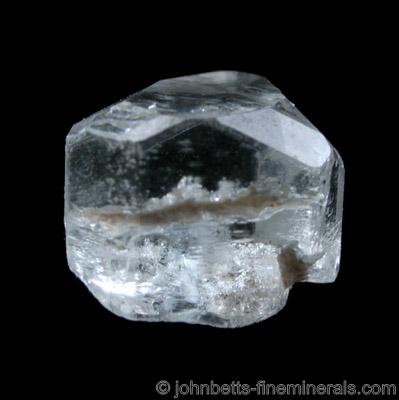 Terminated Goshenite Crystal