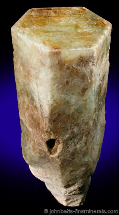 Hexagonal Beryl Crystal