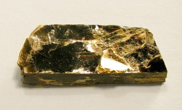Lustrous Elongated Biotite Crystal