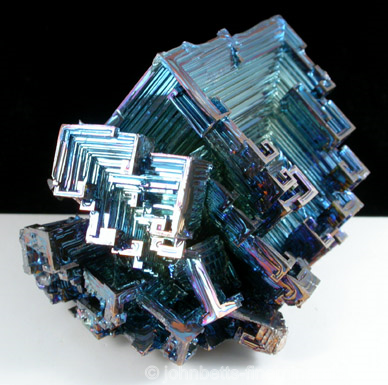 Synthetic Lab-grown Hopper Bismuth