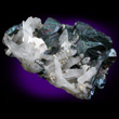 Bornite Crystals with Quartz