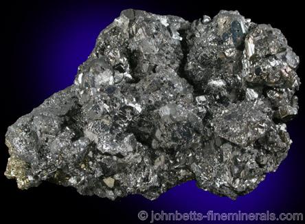Bournonite Crystal Cluster