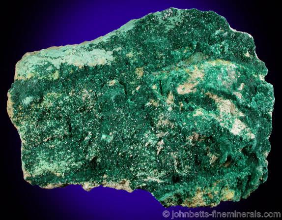 Transparent Green Brochantite Crystals