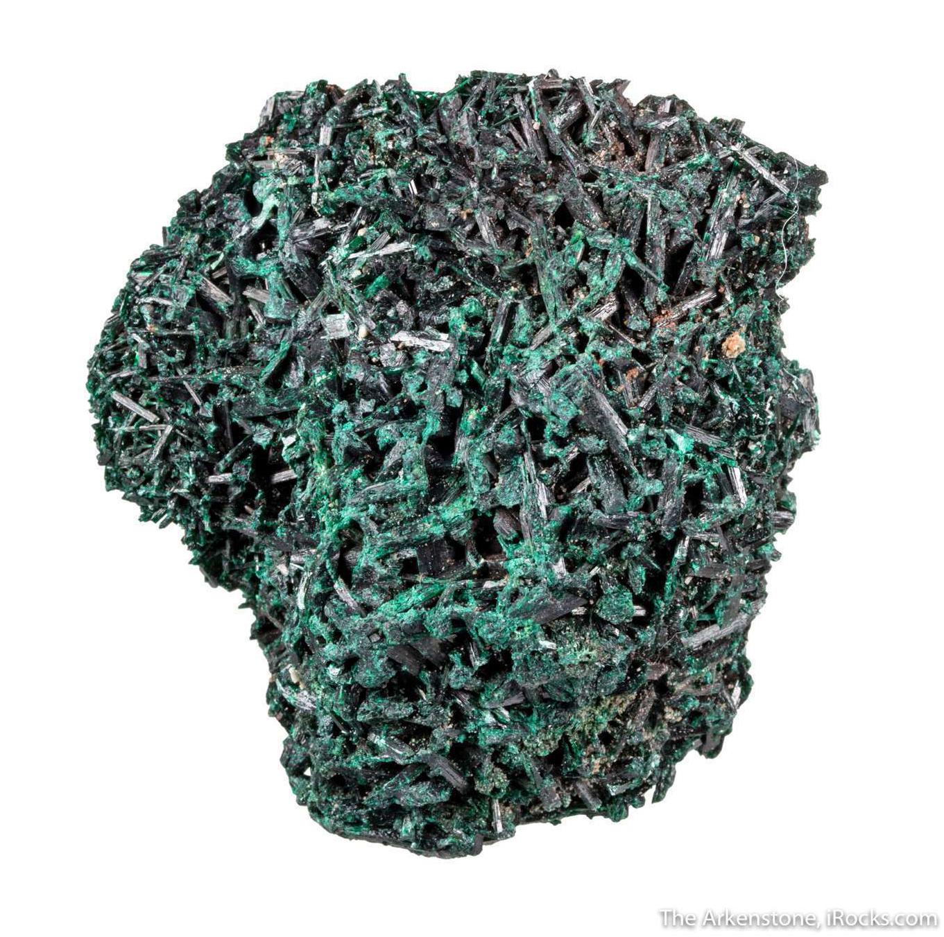 Acicular Brochantite Crystals