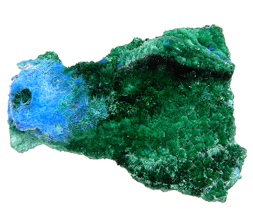 Brochantite and Cyanotrichite