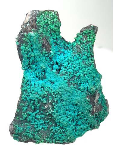 Drusy Brochantite Crystal Plate