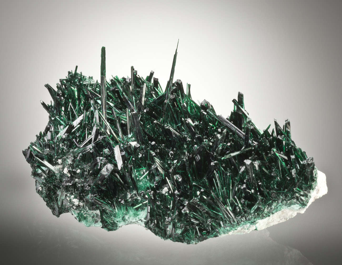 Outstanding Brochantite Needles