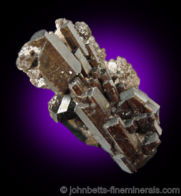 Buergerite Crystal Cluster