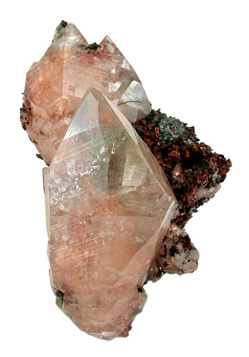 Calcite with Copper Inclusions