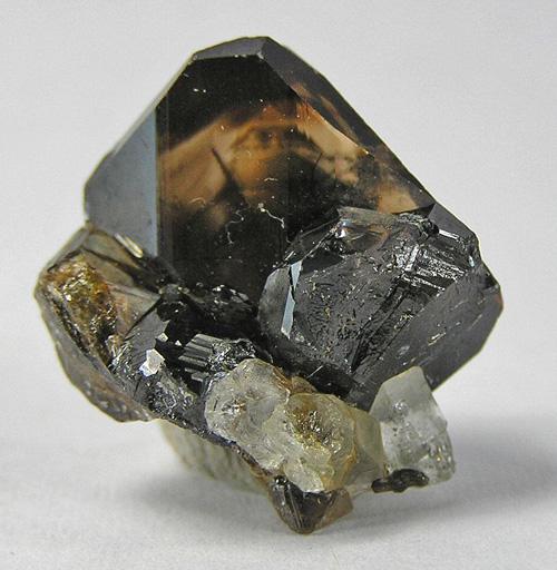 Transparent Cassiterite Single