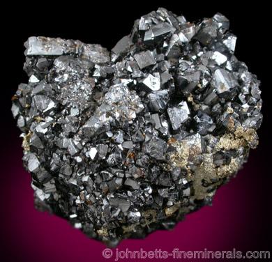 Cassiterite Crystal Cluster