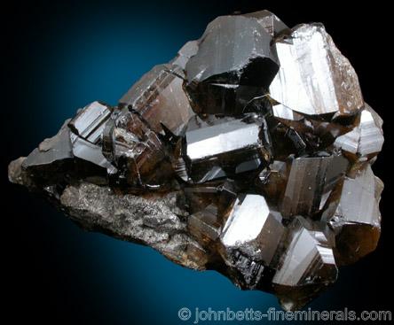 Transparent Brown Cassiterite