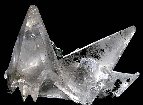 Large Gemmy Cerussite Crystals