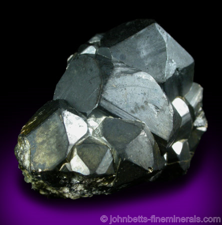 Chalcocite Coating on Pyrite (