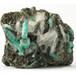 Sharp Chamosite with Emerald