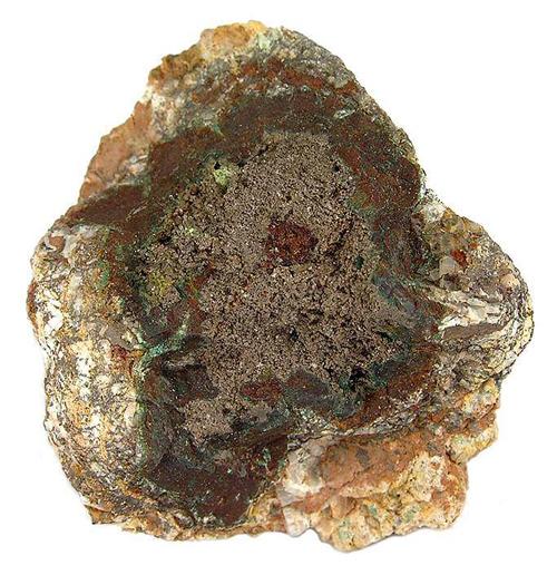 Chlorargyrite Druse on Nodule