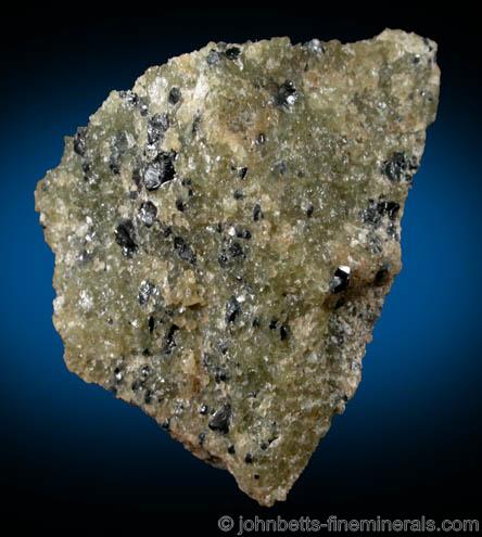 Chromite Crystals Embedded in Matrix