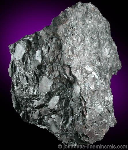 Crystallized Mass of Chromite